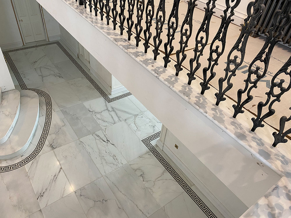 COLORADO MARBLE FLOOR & STAIRCASE 3