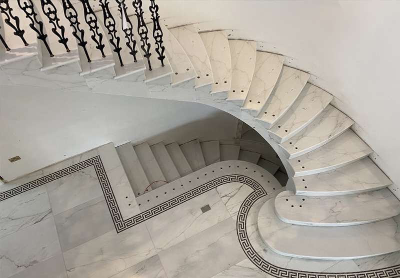 COLORADO MARBLE FLOOR & STAIRCASE 1